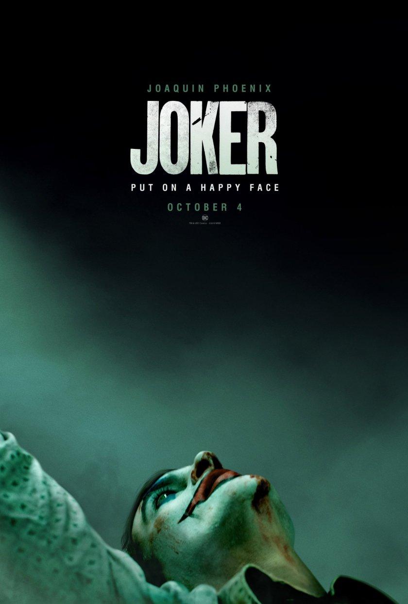 Póster de Joker (2019). Imagen: Joker Movie Twitter (@jokermovie).