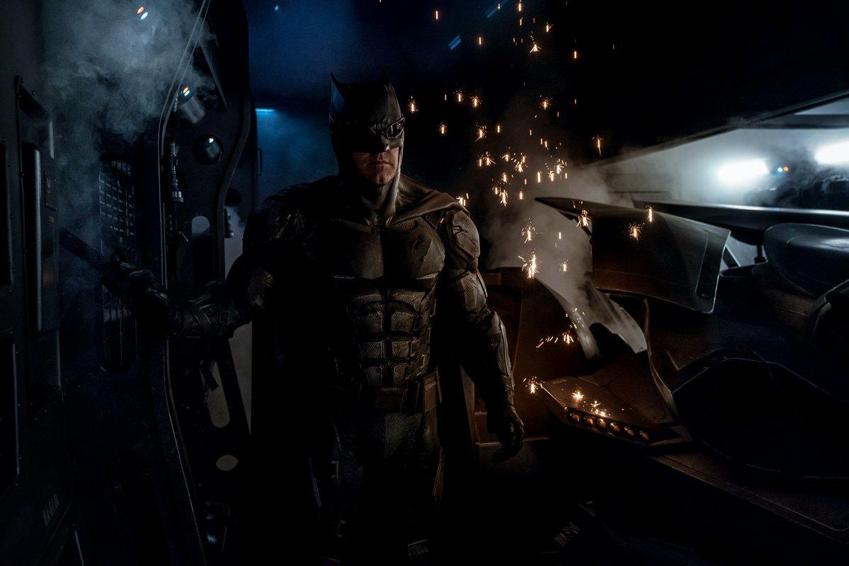 Batman (Ben Affleck) en Justice League (2017). Imagen: batman.fandom.com