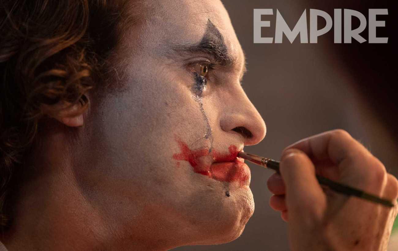 Joaquín Phoenix como Arthur Fleck en Joker (2019). Imagen: Empire Magazine