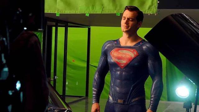 Henry Cavill como Superman en Justice League (2017). Imagen: DC_Cinematic Reddit