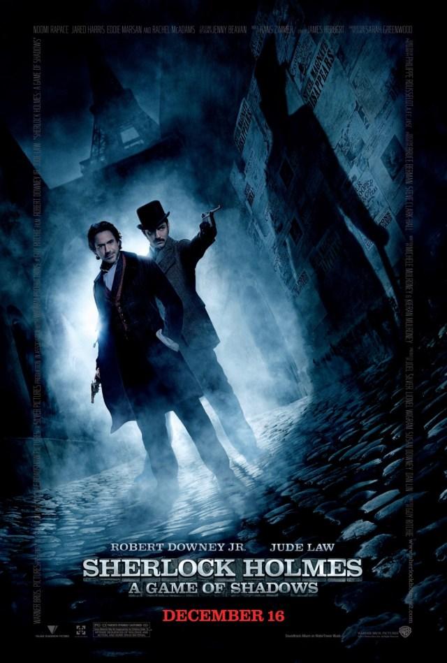 Póster de Sherlock Holmes: A Game of Shadows (2011). Imagen: impawards.com