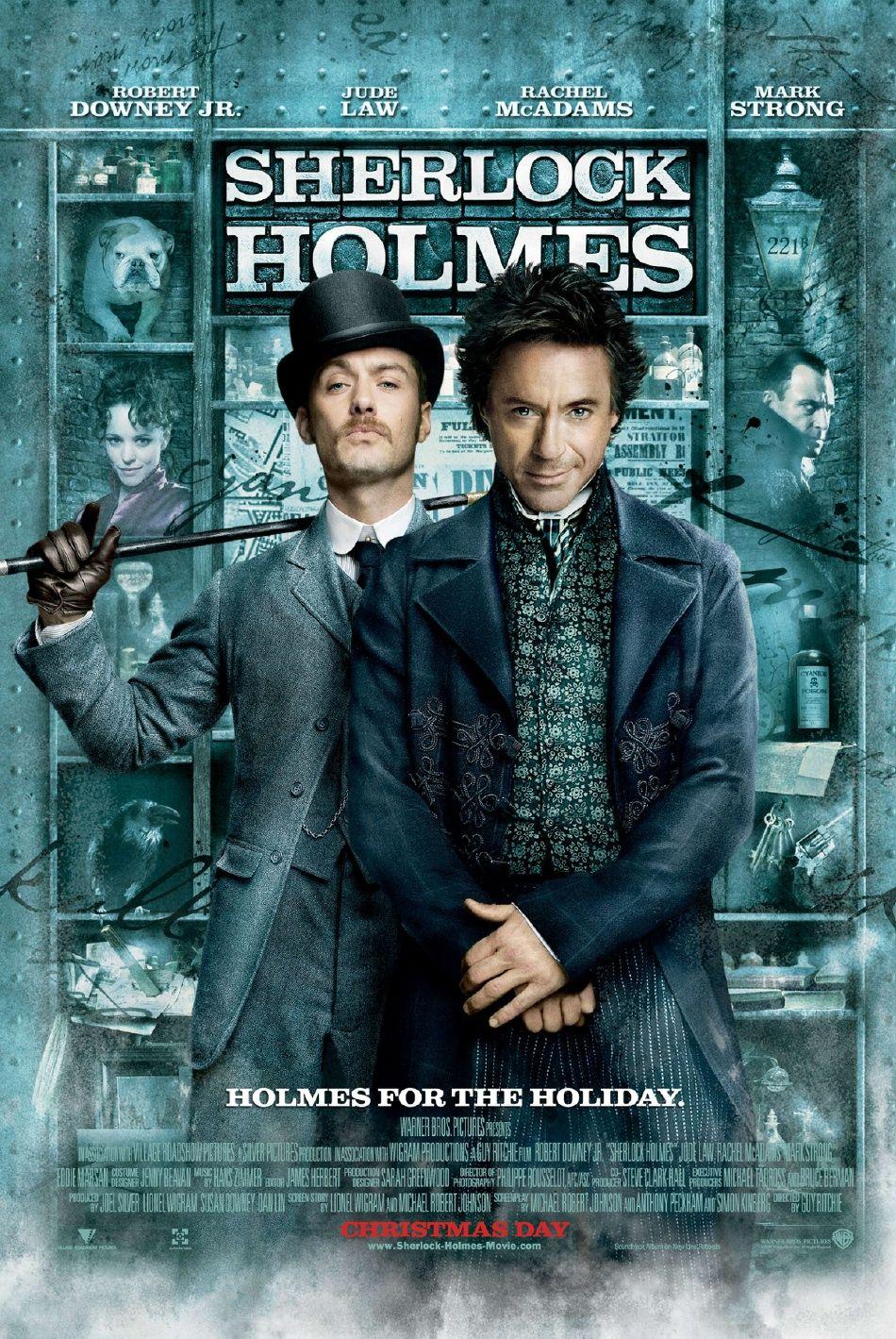Póster de Sherlock Holmes (2009). Imagen: impawards.com