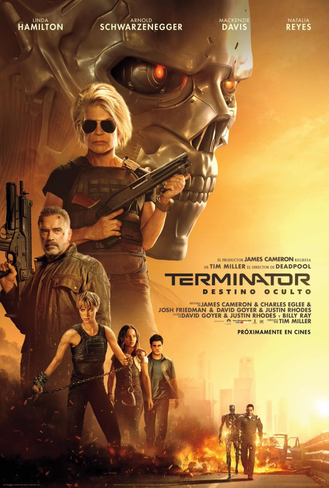 Póster de Terminator: Dark Fate (2019). Imagen: Fox México Twitter (@FoxMexico).