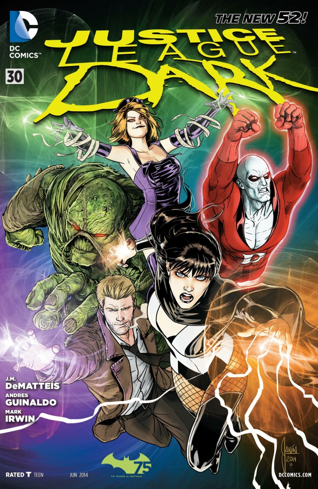 Portada de Justice League Dark #30 (junio de 2014). Imagen: dc.fandom.com