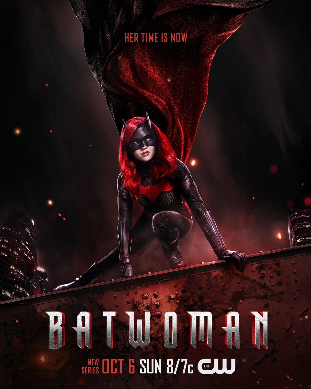 Póster de Batwoman. Imagen: Batwoman Twitter (@CWBatwoman).