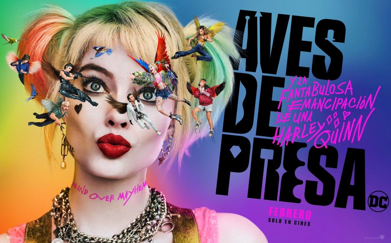 Póster de Birds of Prey (2020). Imagen: WB Pictures Latinoamerica Twitter (@WBPicturesLatam).