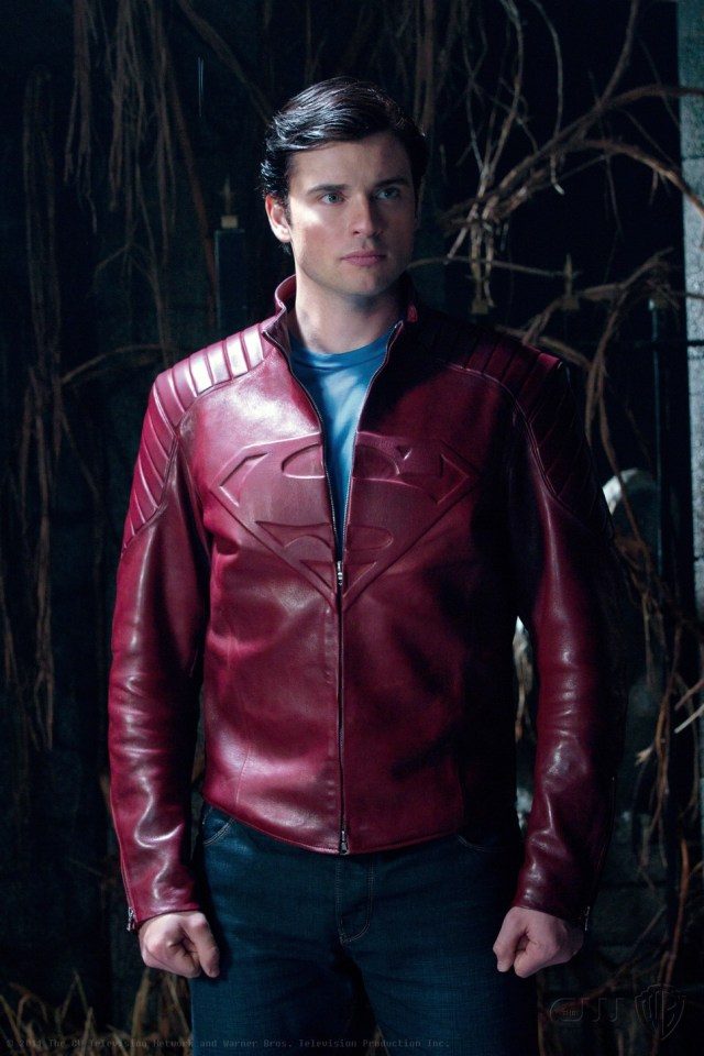 Clark Kent (Tom Welling) en la temporada 10 de Smallville (2001-2011). Imagen: Jack Rowand/The CW
