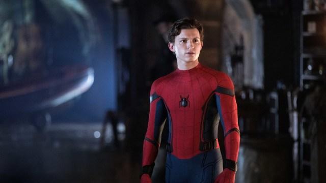 Peter Parker/Spider-Man (Tom Holland) en Spider-Man: Far From Home (2019). Imagen: fanart.tv