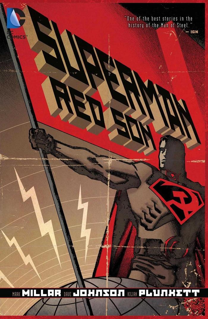 DC Comics publicó originalmente Superman: Red Son (2003) en 3 números. Imagen: dccomics