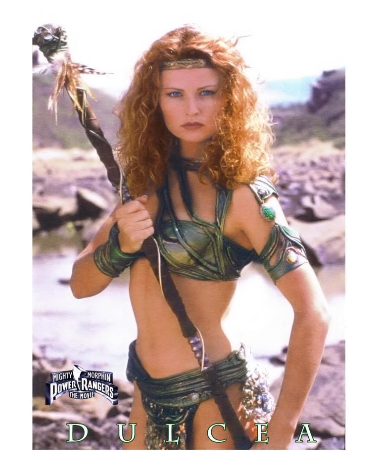 Gabrielle Fitzpatrick como Dulcea en Mighty Morphin Power Rangers: The Movie (1995). Imagen: Archivo.