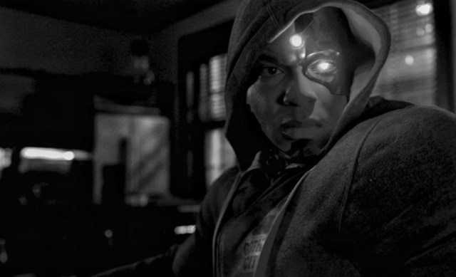Cyborg (Ray Fisher) en el Snyder Cut de Justice League (2017). Imagen: ComicBookMovie.com (CBM).