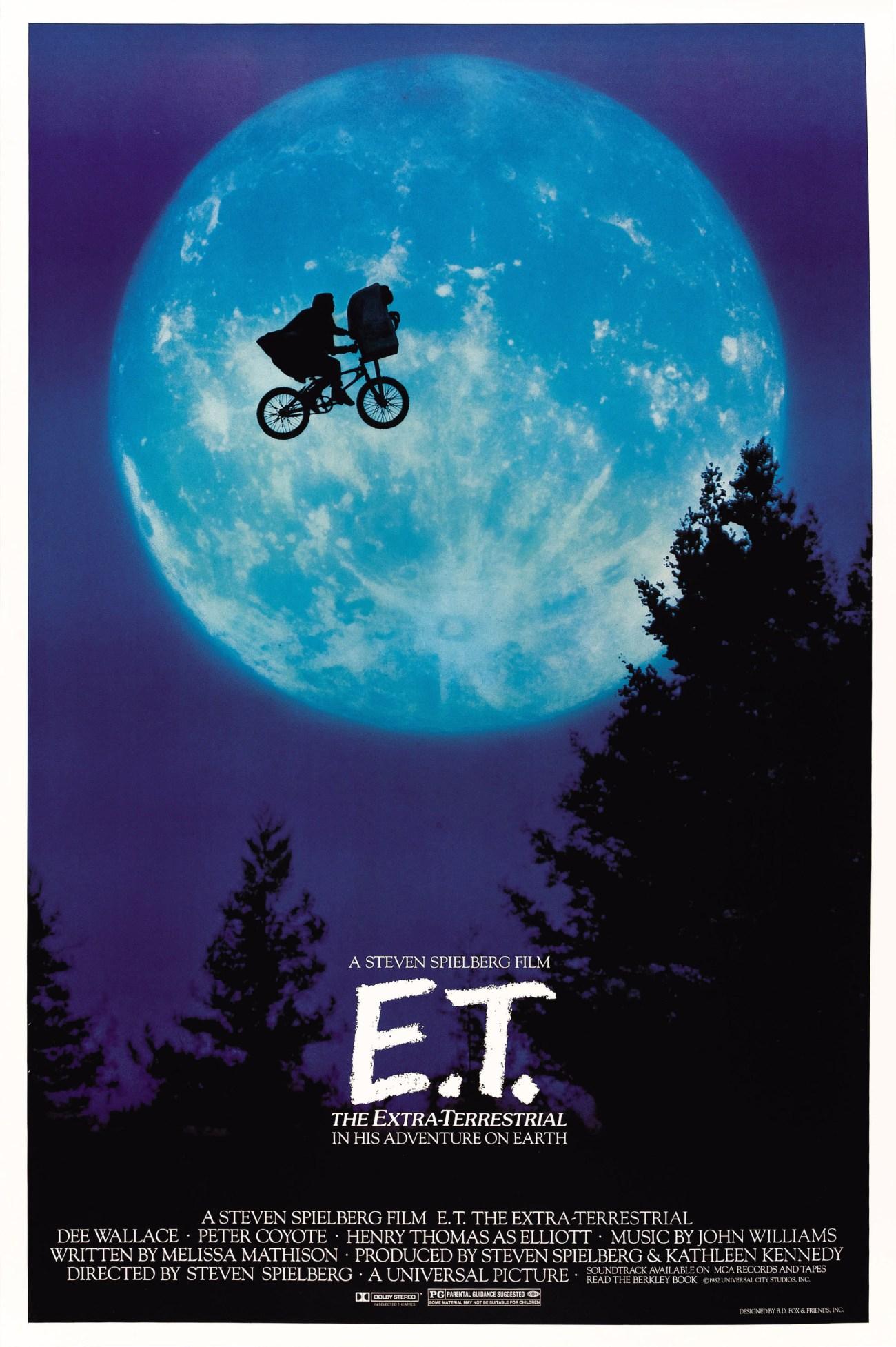 Póster de E.T. the Extra-Terrestrial (1982). Imagen: impawards.com