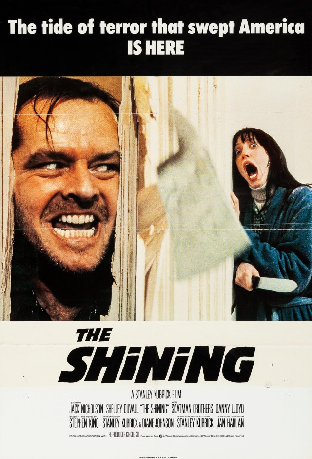 Póster de The Shining (1980). Imagen: impawards.com