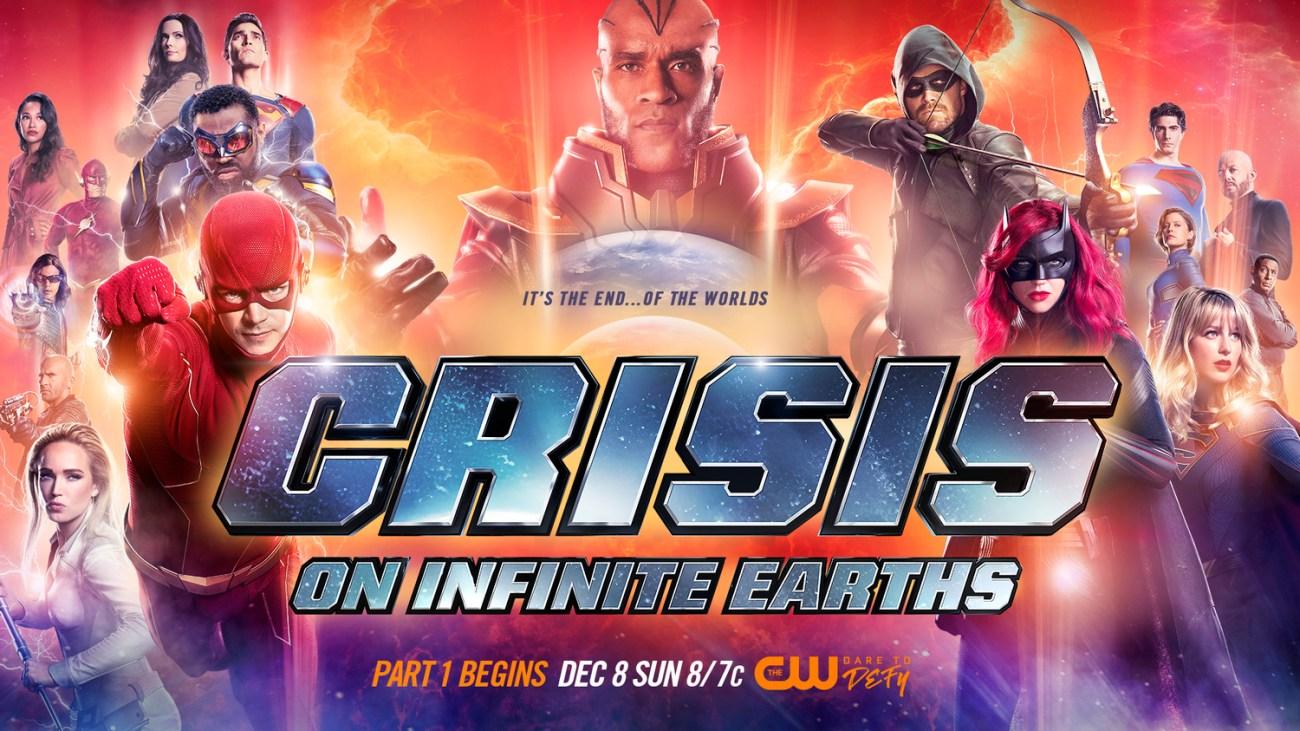 Póster de Crisis in Infinite Earths. Imagen: impawards.com
