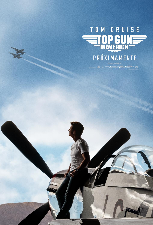 Póster de Top Gun: Maverick (2020). Imagen: Paramount Pictures México Twitter (@ParamountMexico).