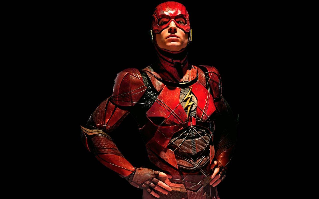 Flash/Barry Allen (Ezra Miller) en Justice League (2017). Imagen: dcextendeduniverse.fandom.com
