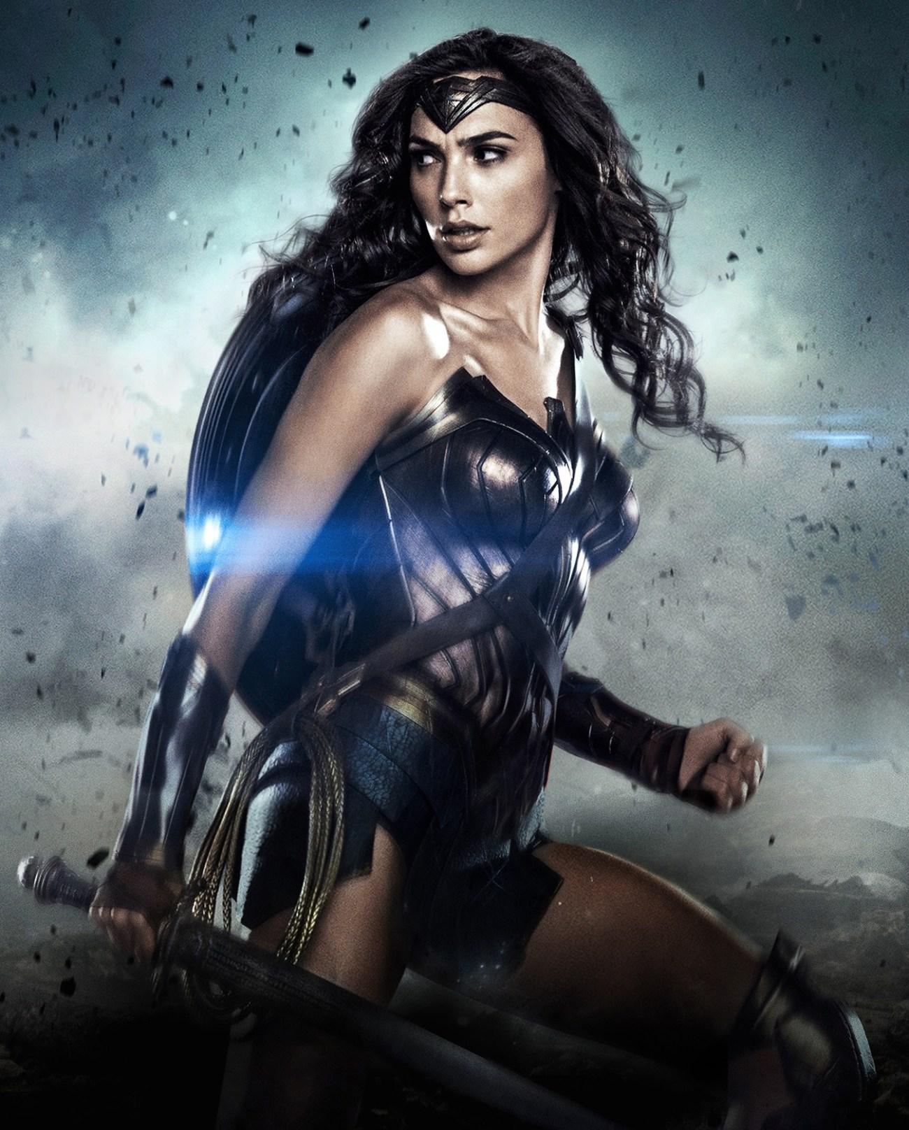 Wonder Woman (Gal Gadot) en Batman v Superman: Dawn of Justice (2016). Imagen: dcextendeduniverse.fandom.com