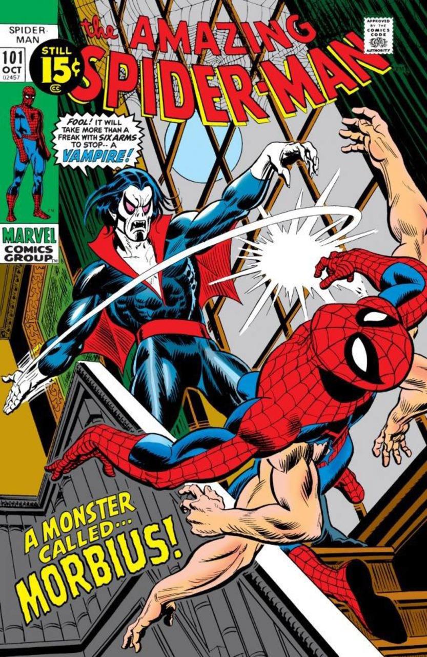 Portada de The Amazing Spider-Man #101 (octubre de 1971). Imagen: Comic Vine