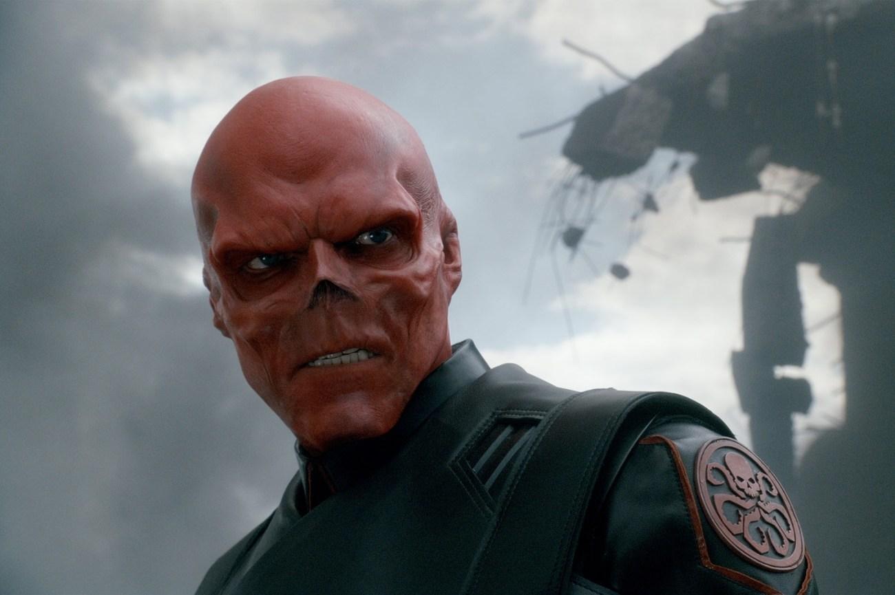 Hugo Weaving como Red Skull en Captain America: The First Avenger (2011). Imagen: Paramount Pictures