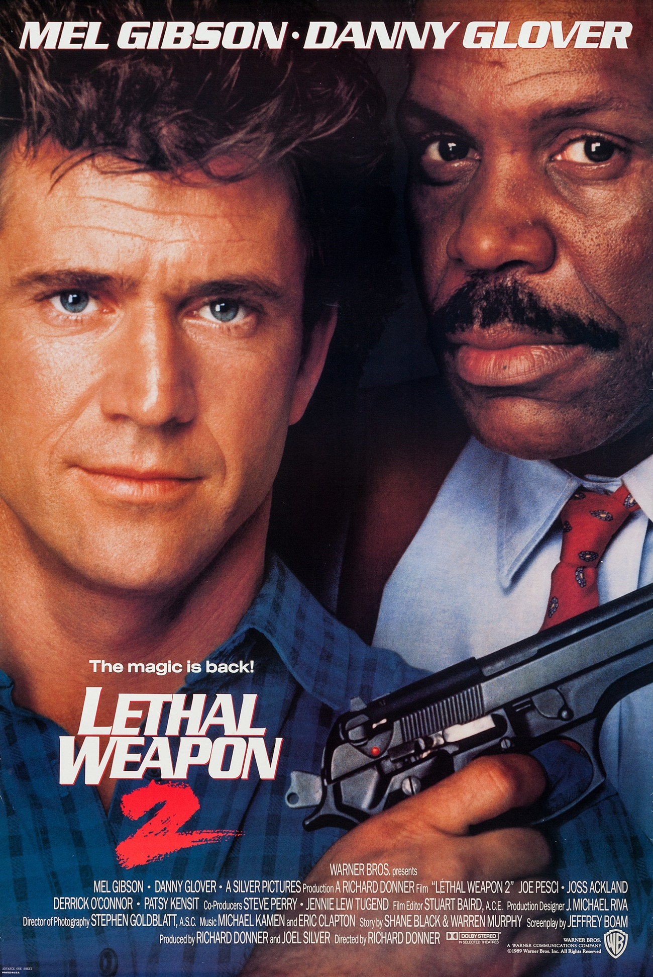 Póster de Lethal Weapon 2 (1989). Imagen: impawards.com
