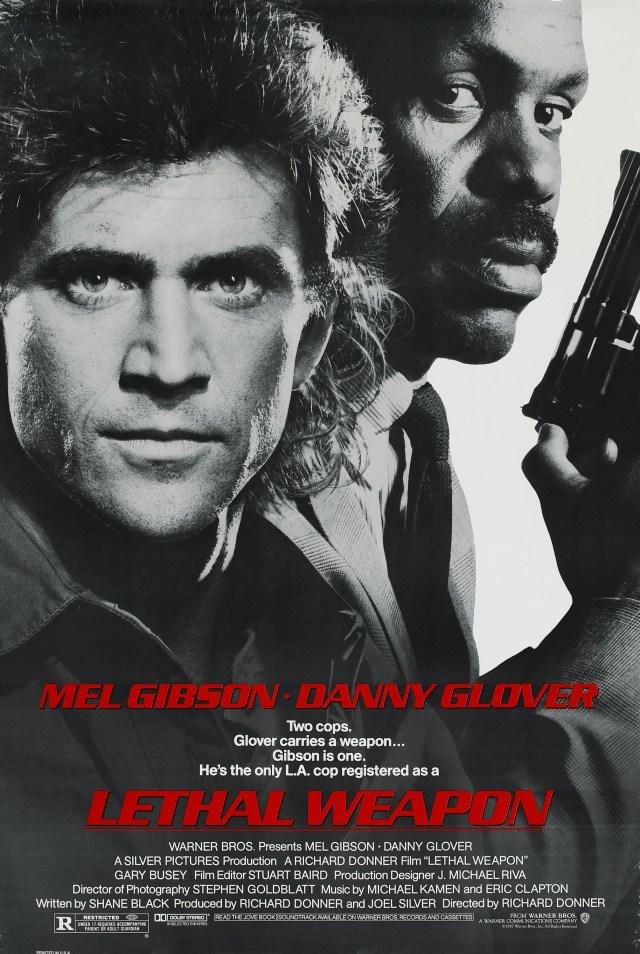Póster de Lethal Weapon (1987). Imagen: impawards.com