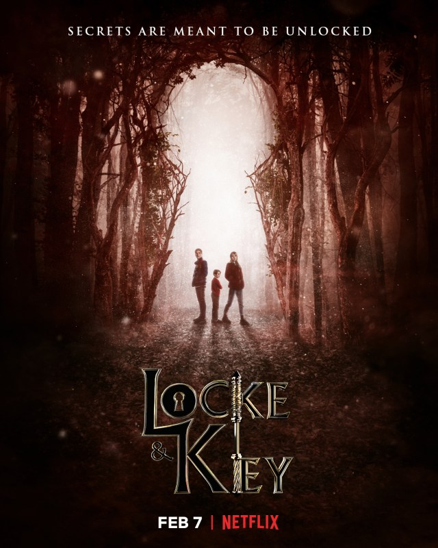 Póster de Locke & Key. Imagen: Locke & Key Twitter (@lockekeynetflix).