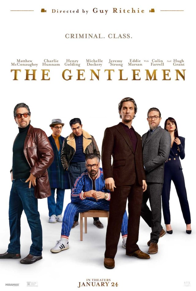 Póster de The Gentlemen (2019). Imagen: impawards.com