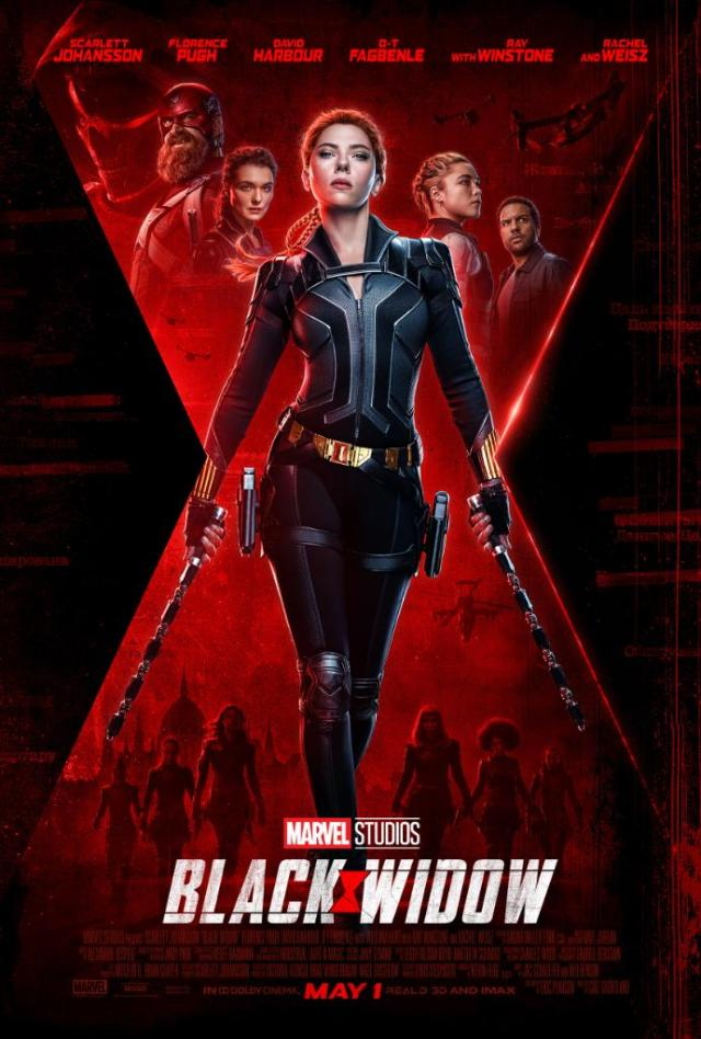 Póster de Black Widow (2020). Imagen: Marvel Entertainment (@Marvel).