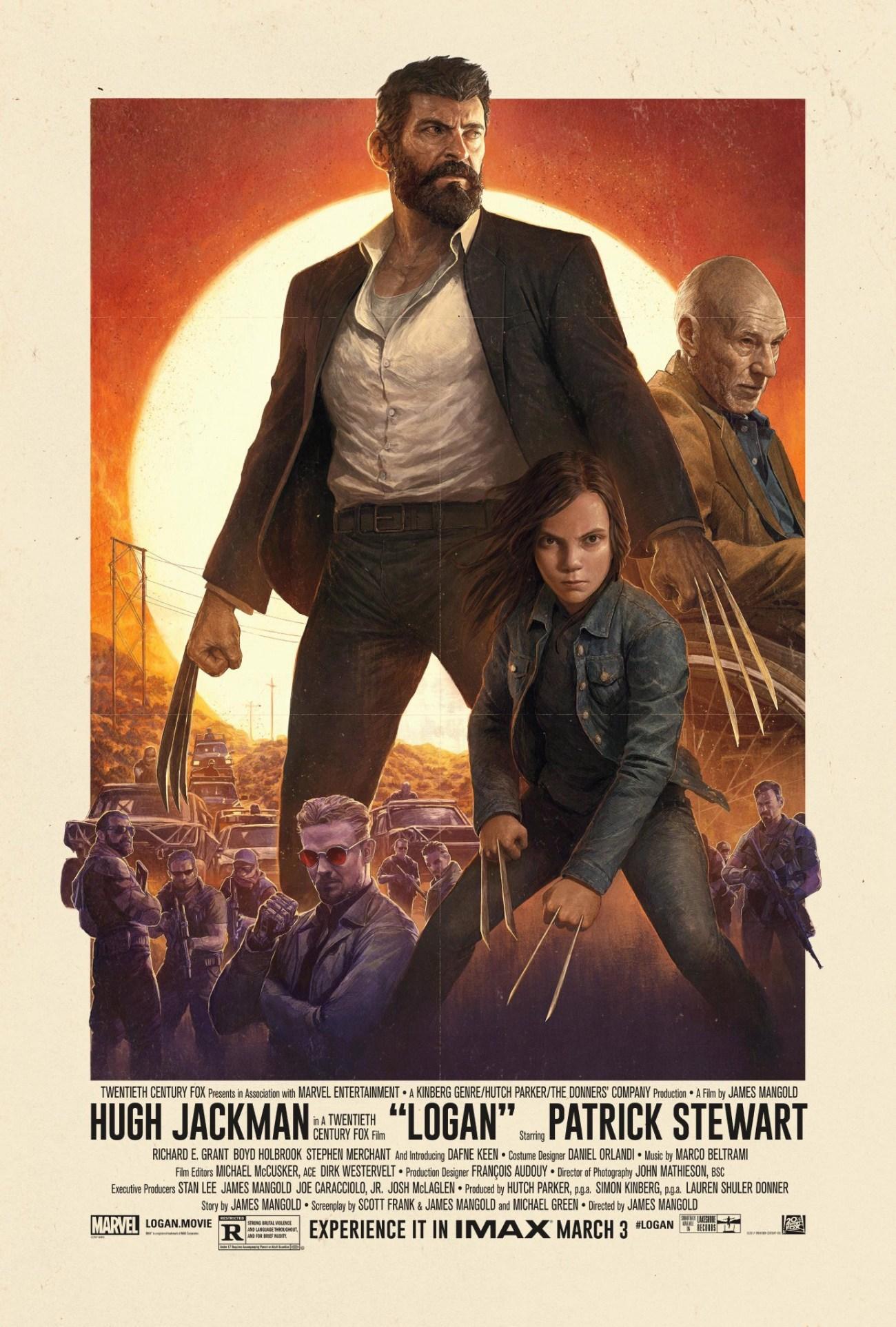 Póster IMAX de Logan (2017). Imagen: impawards.com