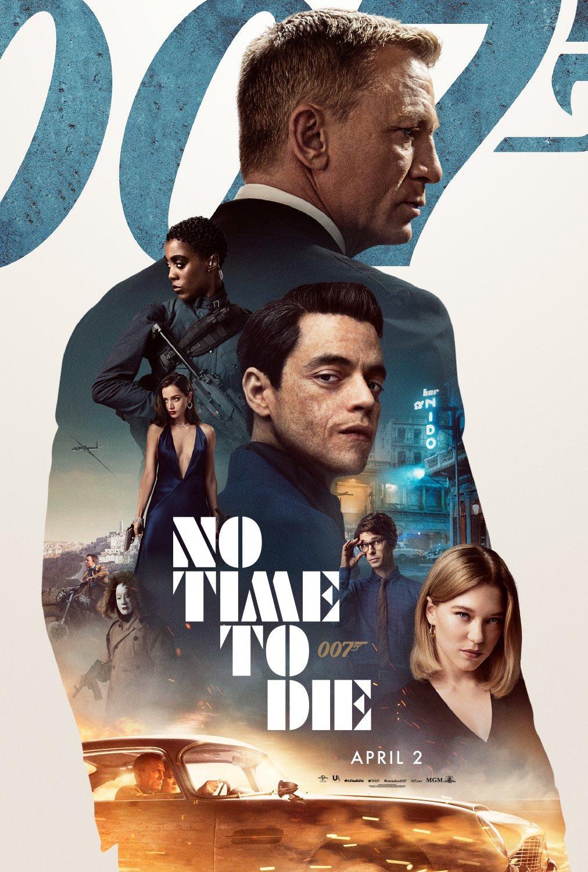 Póster de No Time to Die (2020). Imagen: impawards.com
