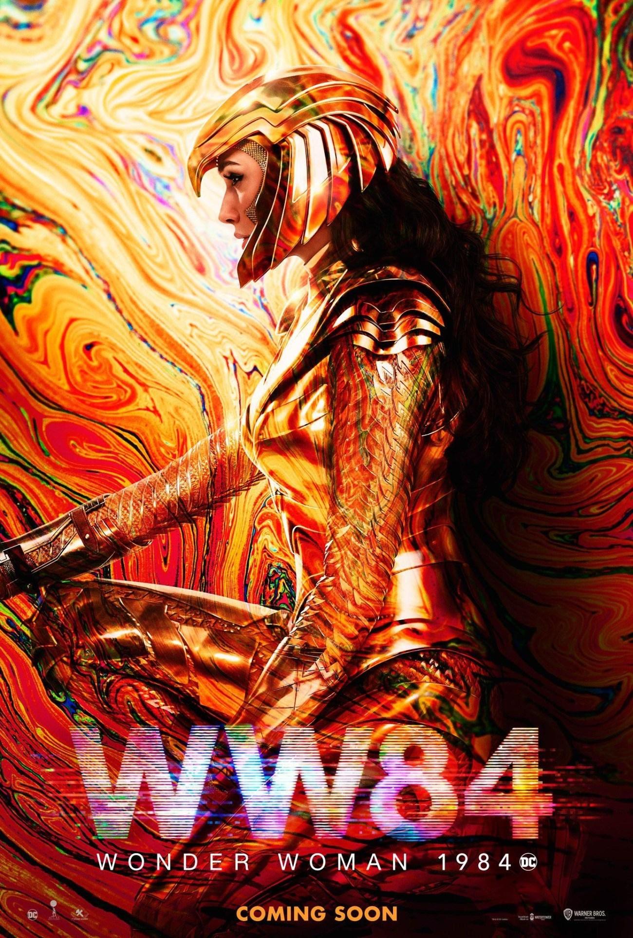 Póster de Wonder Woman (2020). Imagen: impawards.com