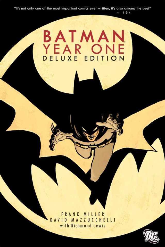 Portada de un tomo recopilatorio de Batman: Year One. Imagen: Comic Vine