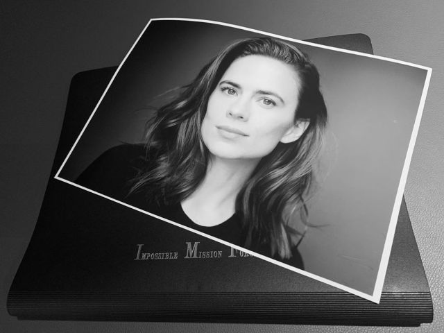 Hayley Atwell aceptó unirse a la franquicia Mission: Impossible. Imagen: Christopher McQuarrie Instagram (@christophermcquarrie).