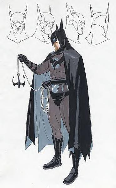 Arte conceptual de un Batitraje para la adaptación de Batman: Year One de Darren Aronofsky. Imagen: slashfilm.com