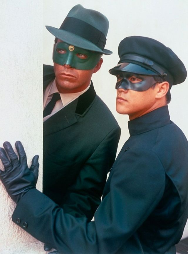 Van Williams (1934-2016) y Bruce Lee (1940-1973) protagonizaron The Green Hornet (1966-1967). Imagen: pinterest.com