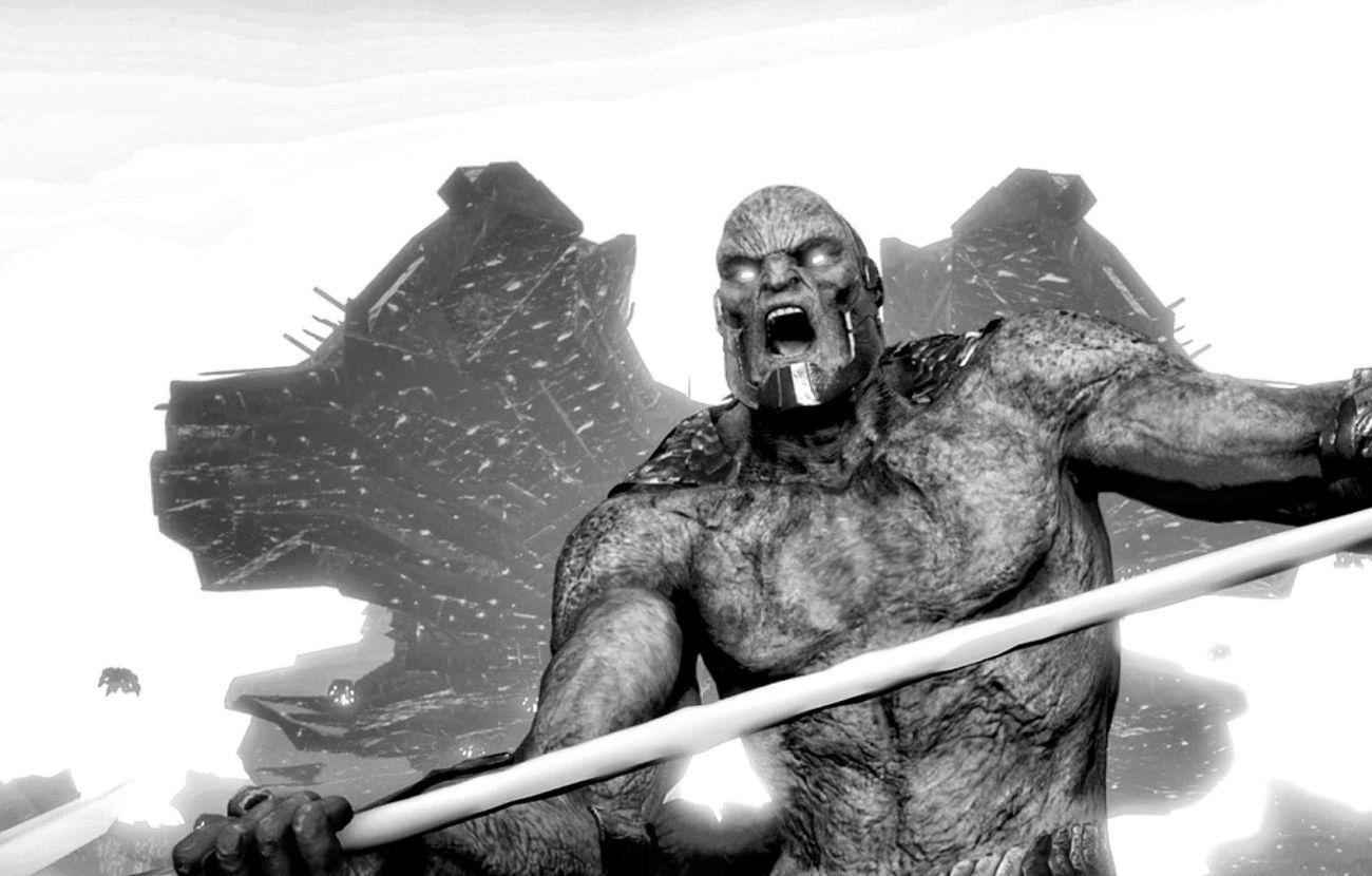 Darkseid/Uxas en arte conceptual de Justice League (2017), compartido por Zack Snyder en Vero. Imagen: pinterest.com