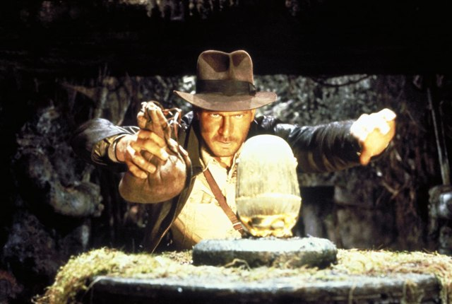 "Harrison Ford como el Dr. Henry Walton ""Indiana"" Jones Jr. en Indiana Jones and the Raiders of the Lost Ark (1981). Imagen: Lucasfilm"