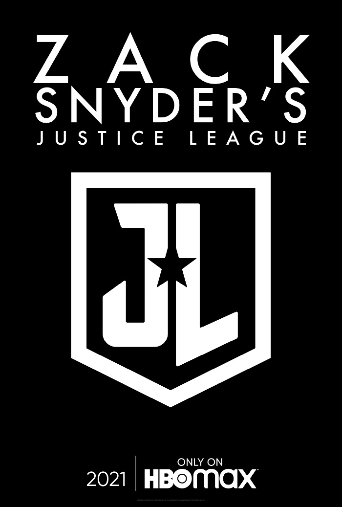 Póster del Snyder Cut de Justice League (2017) en HBO Max. Imagen: dccomics.com