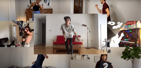 El elenco de The Umbrella Academy anunciando la temporada 2. Imagen: Netflix