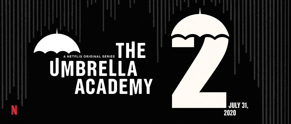 El 31 de julio es la fecha para la temporada 2 de The Umbrella Academy en Netflix. Imagen: dhentertainment.com