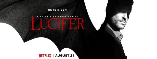 La temporada 5 de Lucifer inicia el 21 de agosto en Netflix. Imagen: Lucifer Facebook