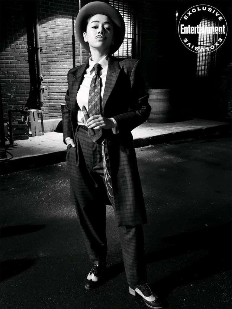 Aimee García en el episodio 4 de la temporada 5 de Lucifer. Imagen: Aimee García