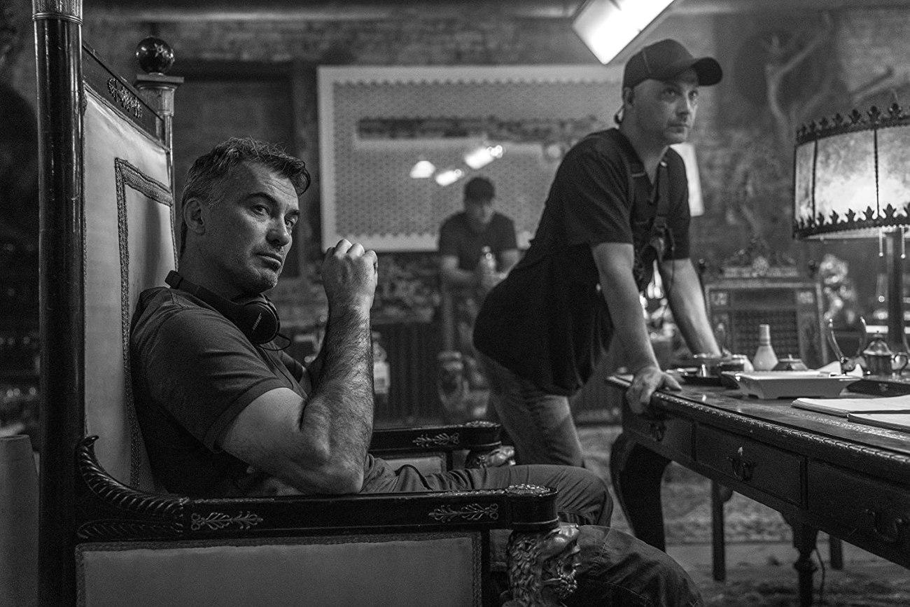 El director Chad Stahelski en el set de John Wick: Chapter 3 – Parabellum (2019). Imagen: Niko Tavernise
