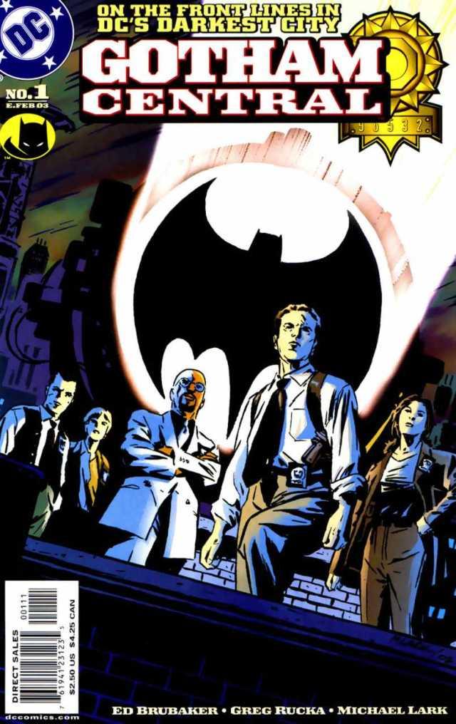 Portada de Gotham Central #1 (febrero de 2003). Arte por Michael Lark. Imagen: Comic Vine