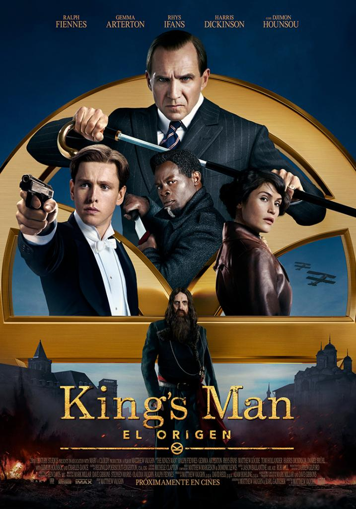 Póster en español de The King's Man (2020). Imagen: 20th Century Studios LA Twitter (@20thcenturyla).