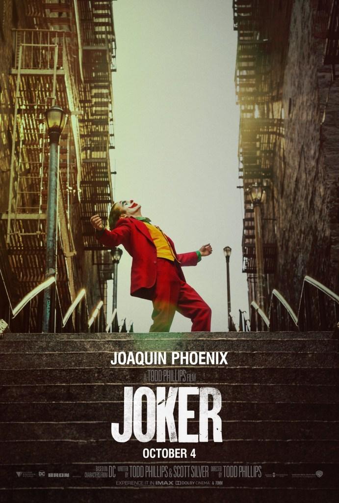 Póster de Joker (2019). Imagen: impawards.com