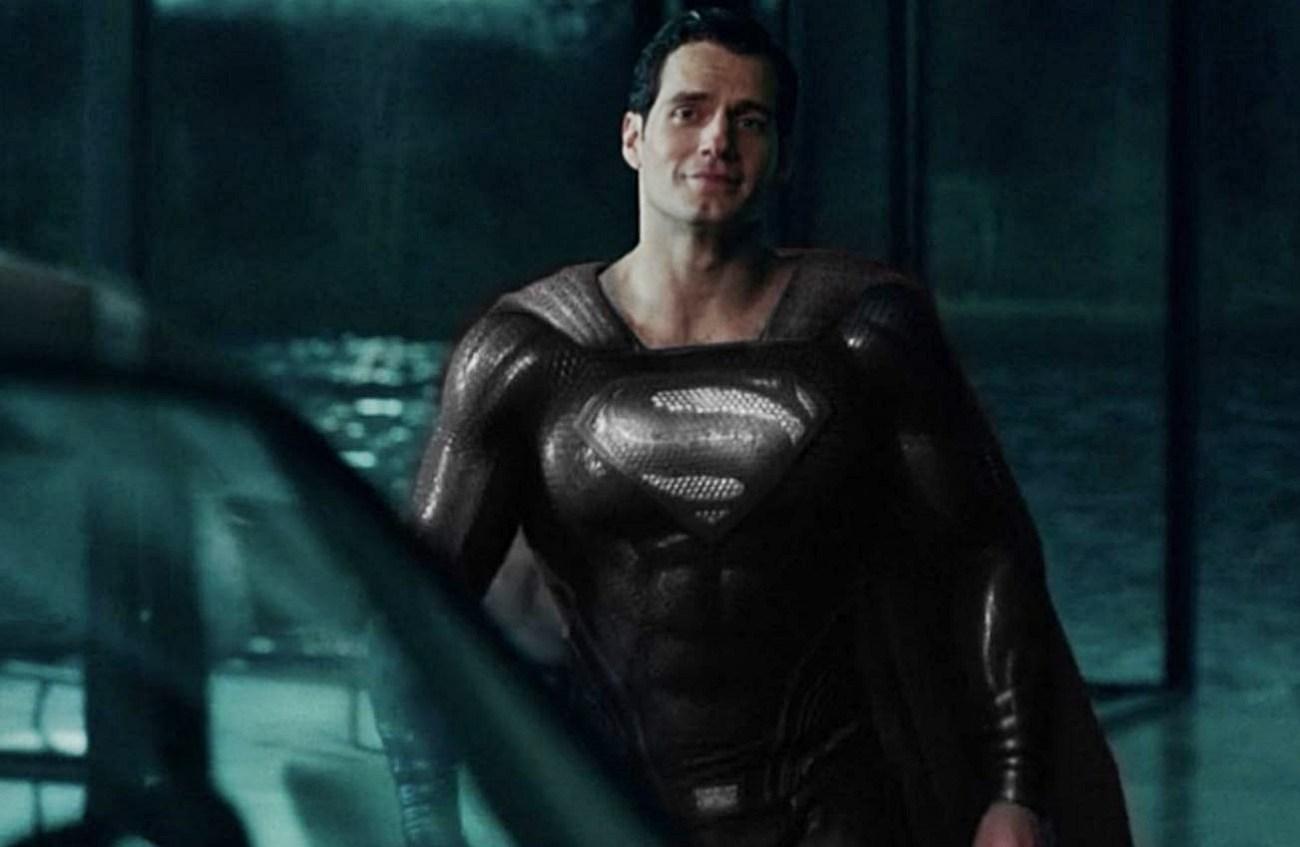 Superman (Henry Cavill) en la versión del director Zack Snyder de Justice League (2017). Imagen: ScreenGeek