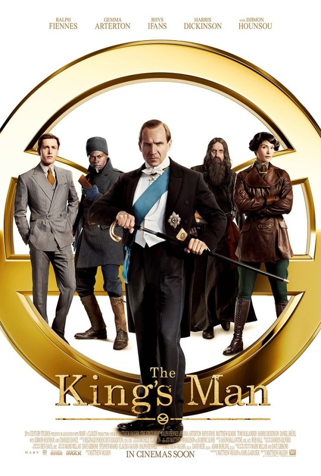 Póster de The King's Man (2020). Imagen: impawards.com