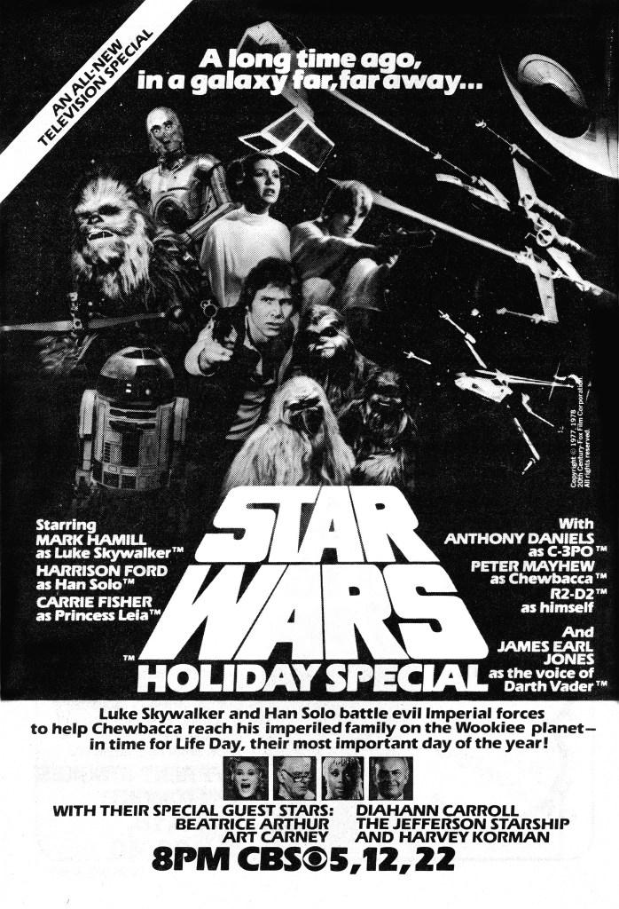 Anuncio de Star Wars Holiday Special (1978) en TV Guide. Imagen: IMDb.com