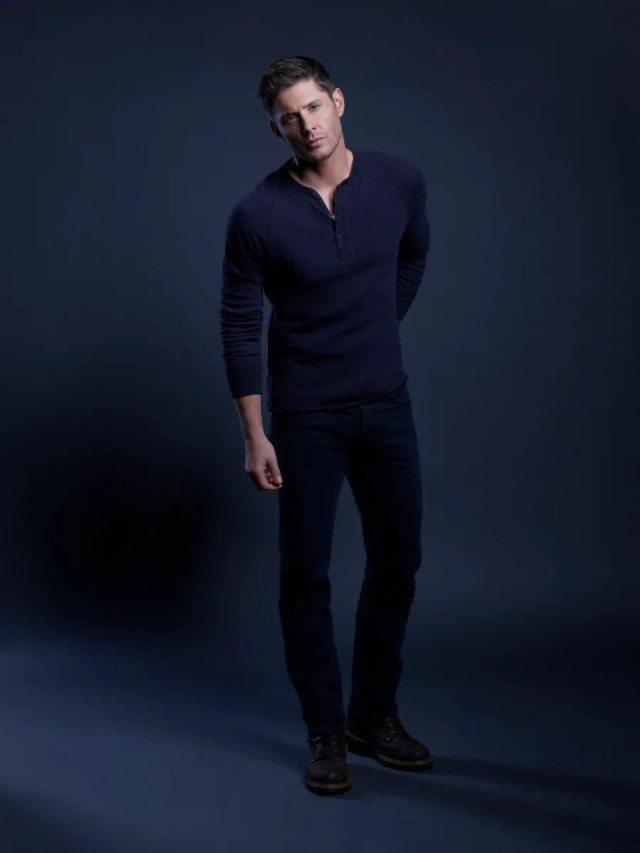 Jensen Ackles como Dean Winchester en la temporada 15 de Supernatural (2005-Presente). Imagen: Brendan Meadows/The CW